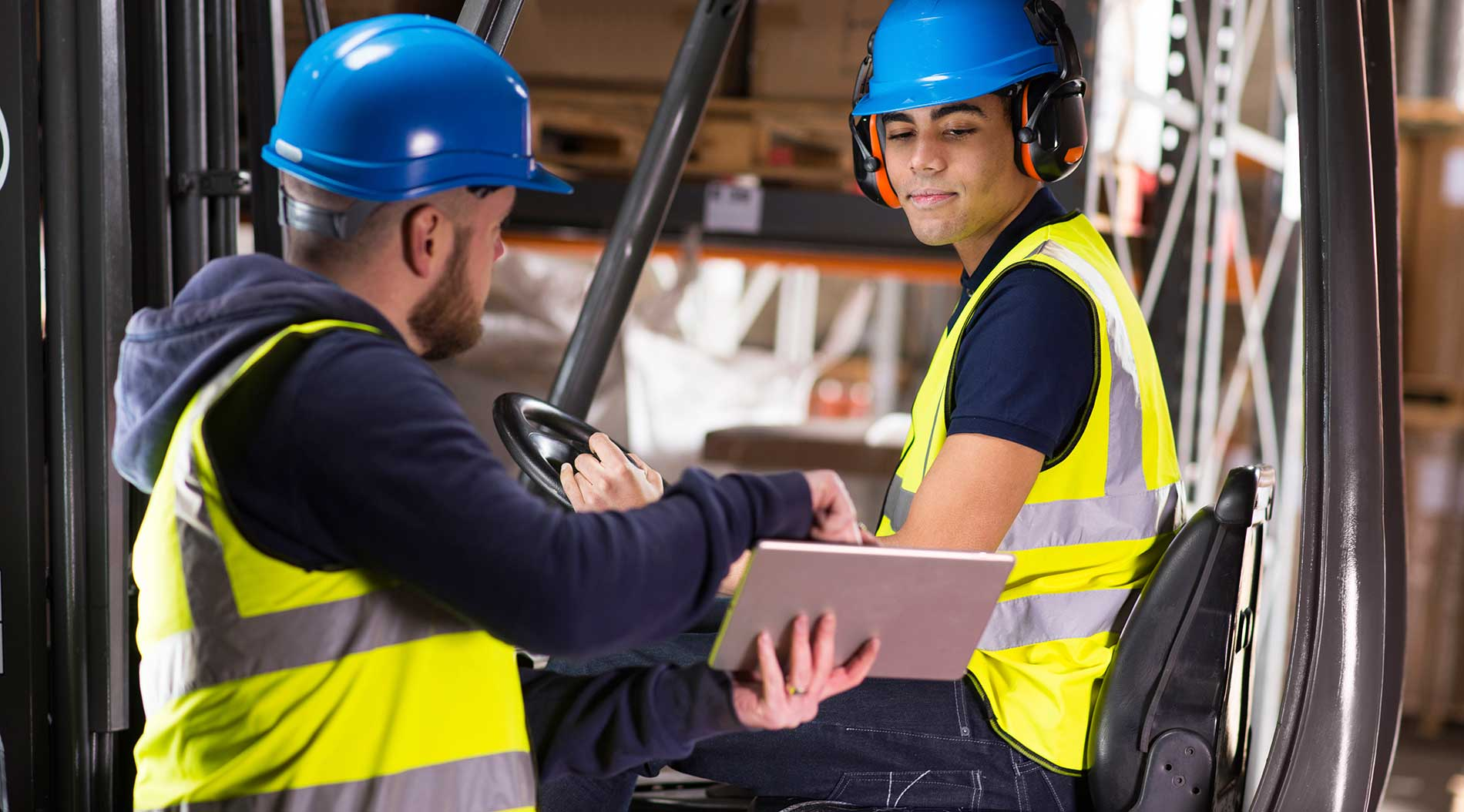 What is forklift operator certification?